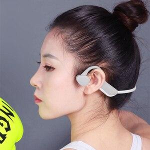 Image 2 - سماعات بلوتوث 5.0 S. Wear لاسلكية التوصيل العظام سماعة الرياضة في الهواء الطلق سماعة مع ميكروفون سماعات يدوي