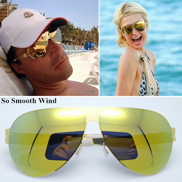 BRAND DESIGN Pilot Classic Polarized Sunglasses Men Women Screwless Casual Sun Glasses with Colored Lens UV400