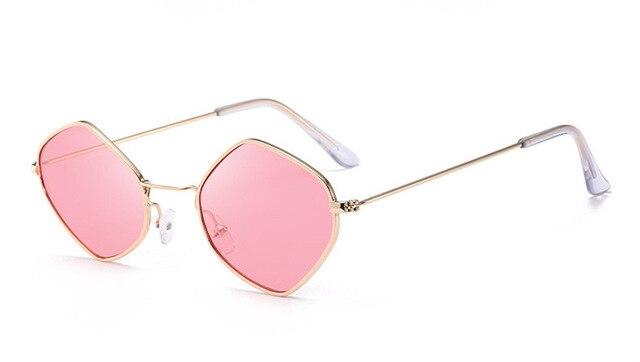 251dcde9cab Dropwow ZXRCYYL 2018 New Polygon Sunglasses Women Men Brand Designer ...