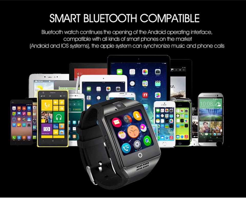 5819b9b799a ITORMIS Smartwatch Bluetooth Relógio Inteligente Tela de Toque Do ...