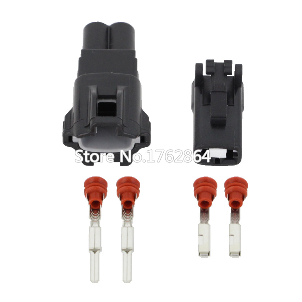 2 pin female and male auto waterproof electrical wiring. Black Bedroom Furniture Sets. Home Design Ideas