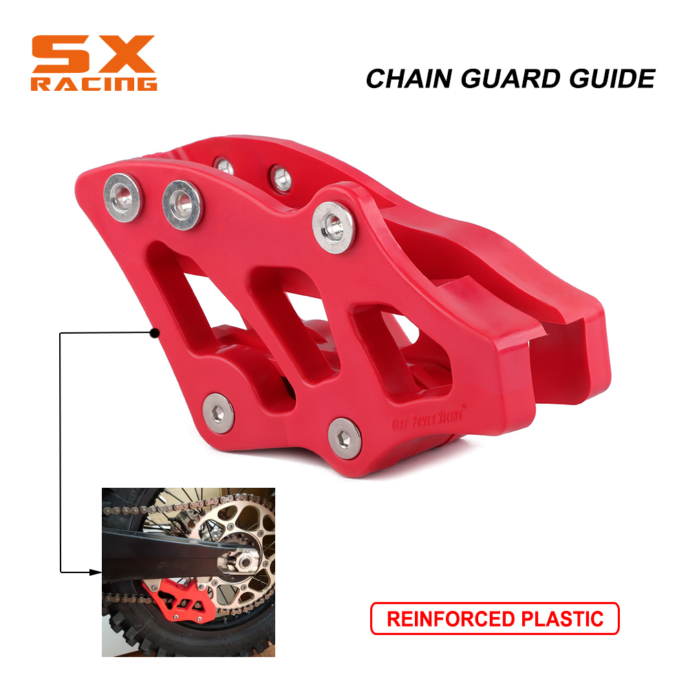 CNC Motorcycle Chain Guide Guard Protector Slider For HONDA CR125R CR250R CRF450X 05-07 CRF250R CRF450R 05-06 CRF250X 2006