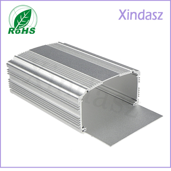 Customized Power Supply Aluminum Housing Aluminum Enclosure Extruded, Aluminum Project Box 120*88*47mm