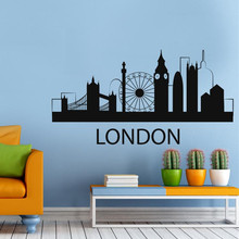 High Quality Removable Travel Europe City Wall Decal Sticker Home Decor London Collection GW-31