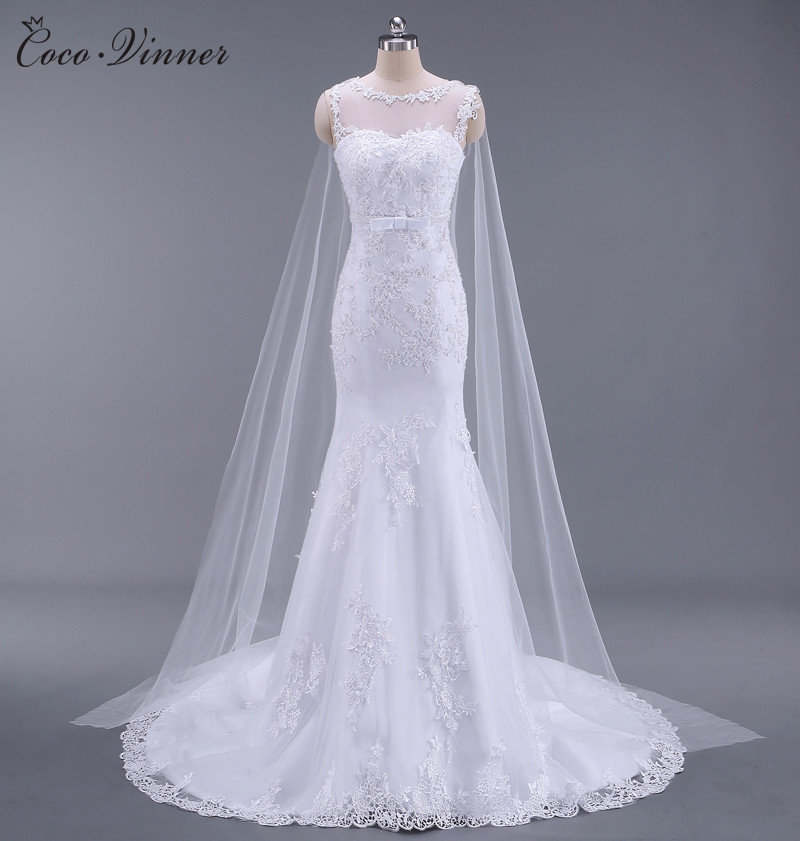 Robe de mariée en mode sirène