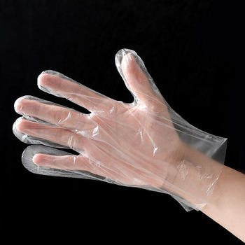 Eco-friendly  For Food Cleaning Plastic Disposable gloves