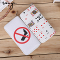 In The Summer, The Trend of The New Women's Purse Large Capacity Playing Cards with A Long Bag Handbag Bag Manufacturers Wholesa