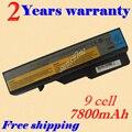 Jigu bateria do portátil para lenovo ideapad g475 g560 g565 g570 g575 g770 g460 g465 g470 z460 l09m6y02 l10m6f21 l09s6y02 lo9l6y02