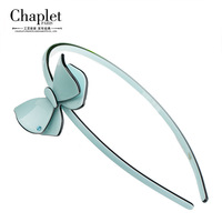 Head Bands For Women Fashion 2015 Chaplet New Acetate Butterfly Hair Bands Solid Girls Flower Headband