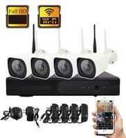 SmartYIBA CCTV Camera Security System Kit 4CH CCTV Kit 8CH Surveillance Camera WIFI APP Remote HD IR CUT Video Surveillance Kit
