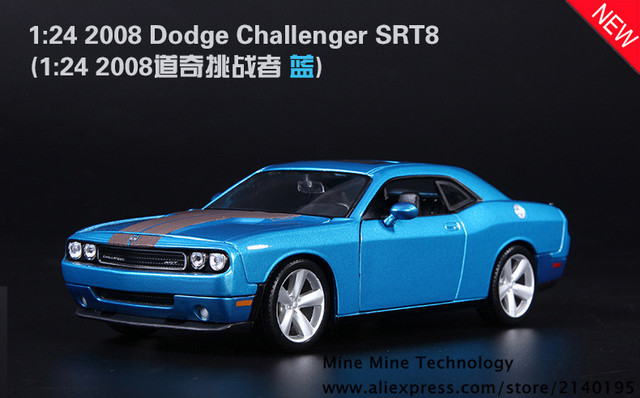Envío gratis del 1:24 Dodge challenger The Fast and the Furious 7 aleación Modelo de Coche Diecast Coche de Juguete modelo de Coche Electrónica con KidToy