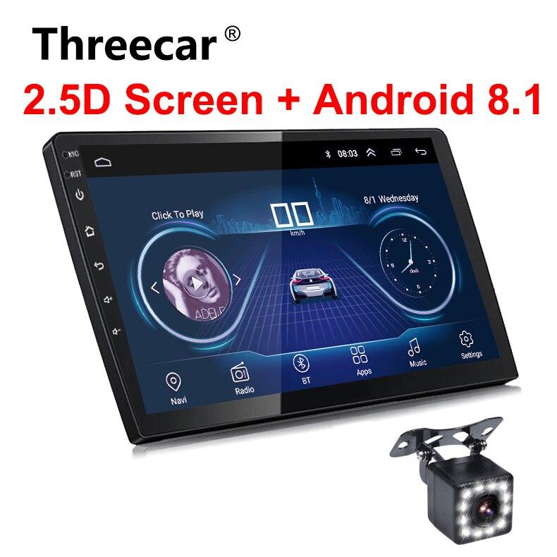 2Din Autoradio 9/10 pouces Android 8.1 Voiture GPS Multimédia Autoradio Universel Navigation Wifi Bluetooth 2 din Autoradio Android