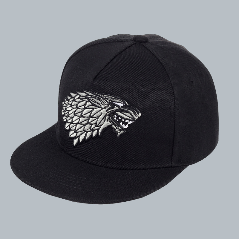 Animal Wolf Fitted Baseball Caps For College Students Fashionable Great For Travle Adventures Trucker Hats