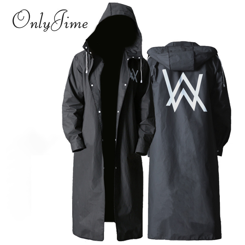 Adult Outdoor Riding Hiking Poncho Rainproof Long Section Increased Portable Waterproof Poncho Fashion High Quality Raincoat