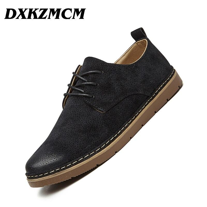 DXKZMCM Men Formal Shoes British Style Men Dress Shoes Black Men Business Shoes Cow Suede Men Casual Shoes