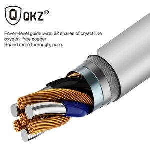 Image 4 - QKZ auriculares metálicos EQ1 con micrófono, para teléfono Xiaomi