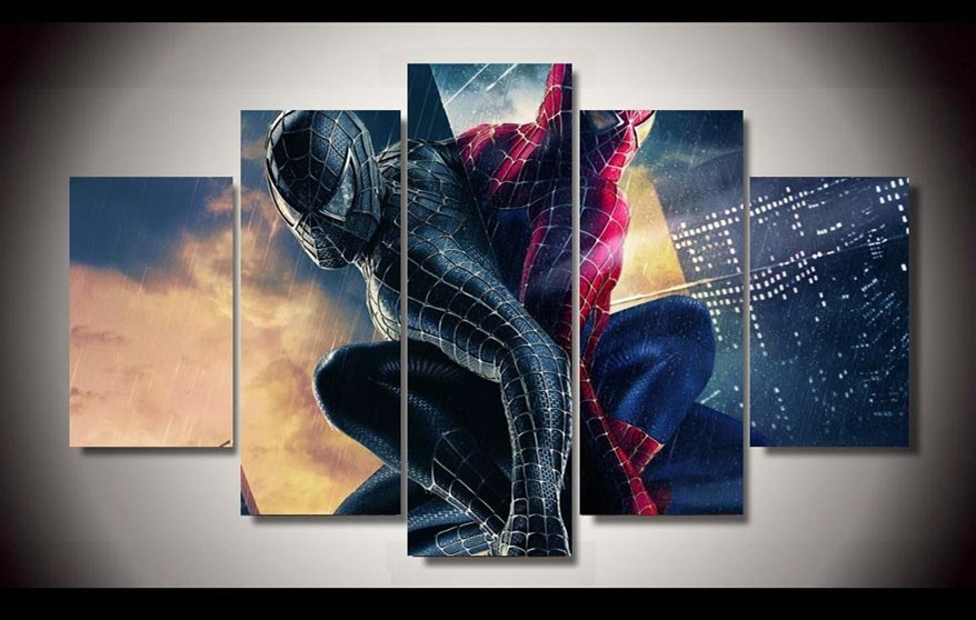 Spiderman Wall Decor online get cheap spiderman artwork -aliexpress | alibaba group