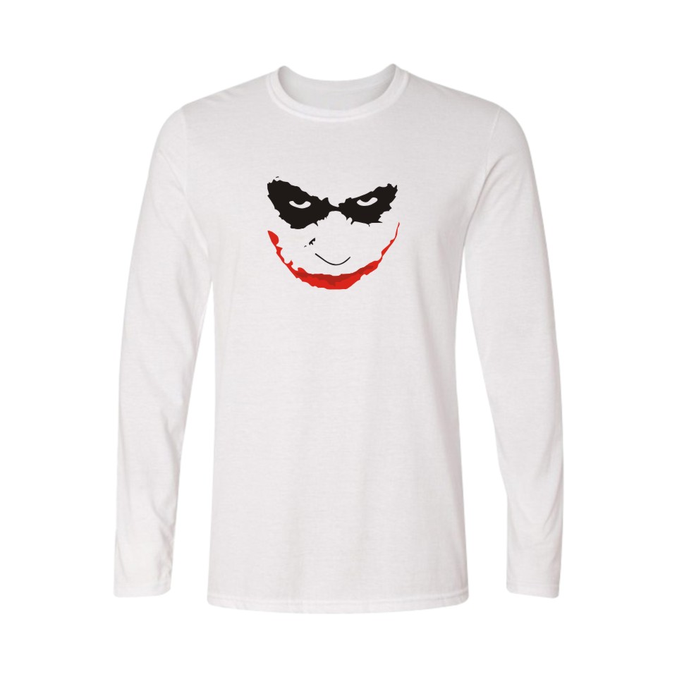 Design t shirt class - Brand Joker Evil Design White Loose Long T Shirt Women With Xxs To 4xl Plus Size New T Shirt Women In Class Shirts Tops And Tees
