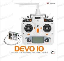 Walkera Devo 10 white w/Receiver RX1002 2.4Ghz 10Ch Radio FreeTrack Shipping