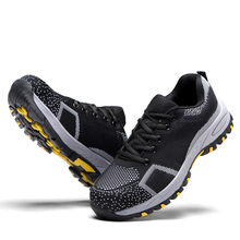 AC13007 Mens Work Safety Shoes Steel Toe Puncture Proof Footwear Industrial/Construction Heavy Duty Sneakers