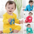 Baby children's clothing female male child autumn child 100% cotton baby ladybug set infant set