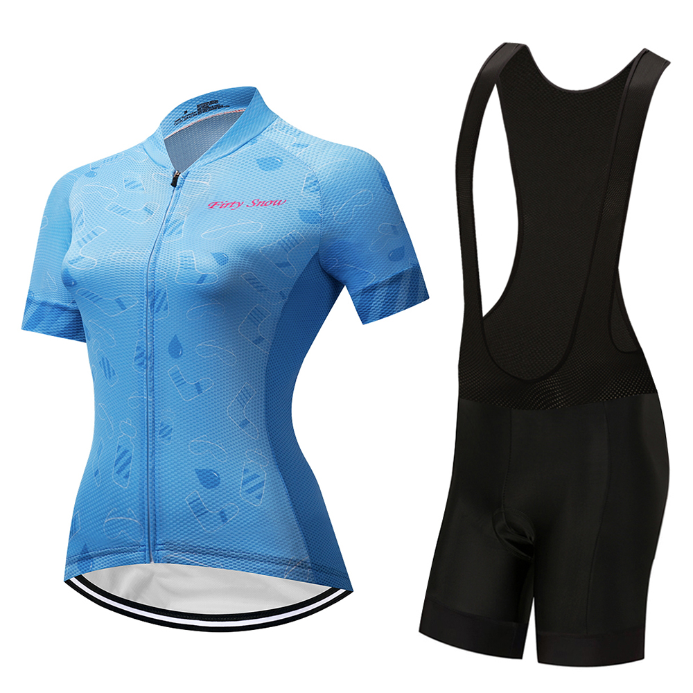 2018 cycling jersey bike clothes bib shorts set MTB bicycle wear ropa ciclismo high quality summer women bike clothing