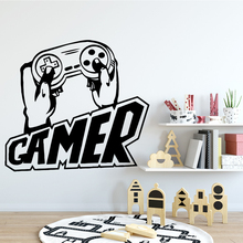 Cartoon Style gamer Vinyl Wall Stickers Home Decor Modern Acrylic Decoration For Kids Rooms Murals