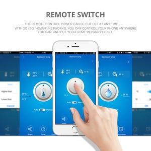 Image 4 - Sonoff TH10 TH16 WiFi SMART SWITCH การตรวจสอบอุณหภูมิความชื้น WiFi สวิทช์อัตโนมัติทำงานร่วมกับ Alexa Google Home