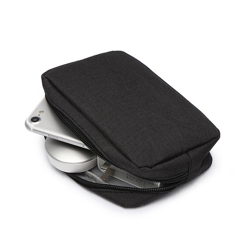 Power Bank Protect Case Box Oxford Cloth Bag External Hard Drive Disk PowerBank Cover HDD Case Cover For IPhone Xiaomi Powerbank