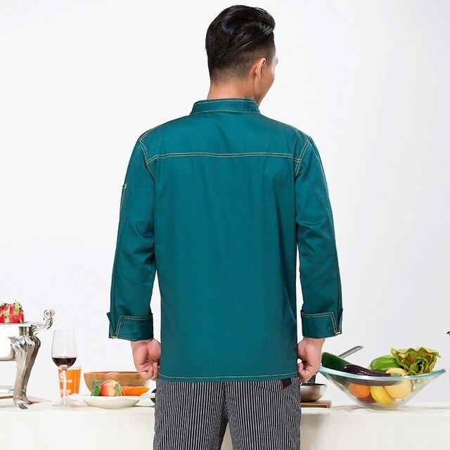 Chef blanc uniformes Unique hôtel Restaurant cuisine cuisinier vestes pour hommes et femmes en gros Le Chef vêtements