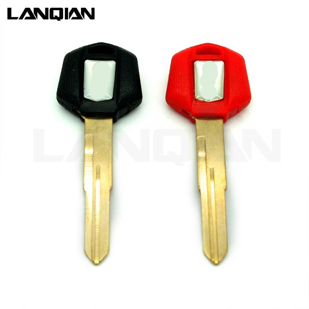 Motorcycle Keys Embryo Blank Key FOR Suzuki BK=B-kingUncut Blade Keys Chip