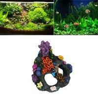 Zero 2017 Cartoon Resin Castle Aquariums Castle Decoration Aquarium Fish Tank Tower Purchasing B7720