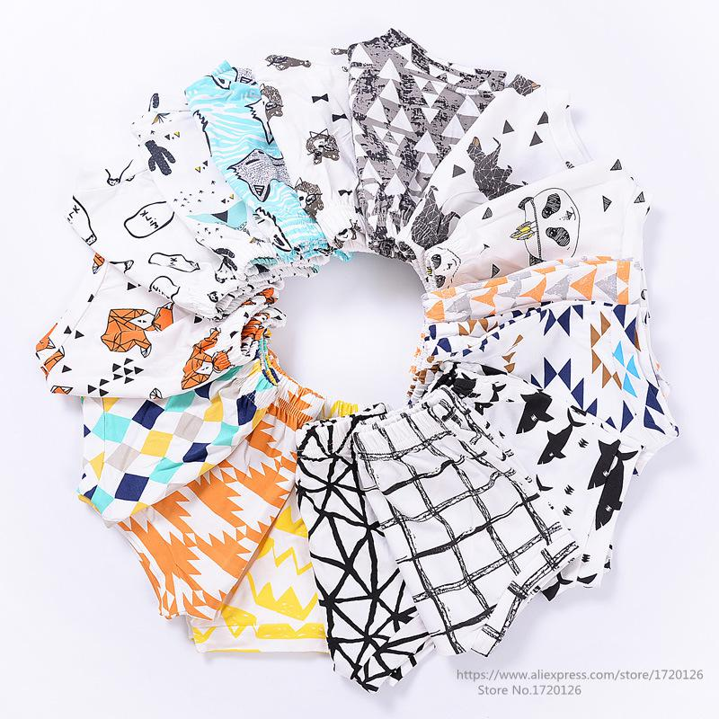 Baby Boys Shorts Summer 2020 Girls Cotton PP Shorts For Boys Girls Children Harem Trousers Toddler Short Pants Kids Clothing