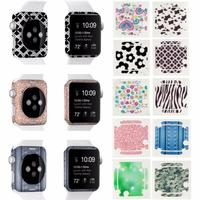 10pcs Watch Full Body Skin Cover 38mm 42mm Back Side Wrap Film Sticker Cover For Apple