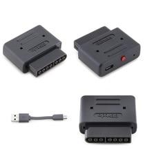 8bitdo receptor Retro Bluetooth Dongle inalámbrico para SNES SF C Snes Compatible con NES30 SFC30 NES Pro PS3 PS4 Wi iU, controladores de juego