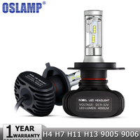 H4 H7 H11 H13 9005 HB3 9006 HB4 LED Car Headlight Single Hi Lo Beam CSP
