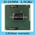 Пожизненная гарантия Core i5 2450 м 2.5 ГГц SR0CH 2450 ноутбук процессоры ноутбук процессора PGA 988 официальная версия компьютер оригинальный
