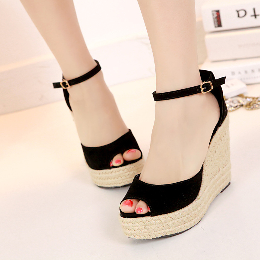 Superior Qality Summer Style Comfortable Bohemian Wedges font b Women b font Sandals for Lady Shoes