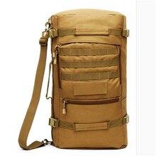 2016 ventas calientes masculinos mochilas militares bolso impermeable de alto grado 60 l mochila multi-función super gran recorrido de la capacidad bolsas