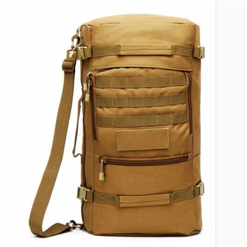 d67bd75933e0 2016 горячие продажи мужские военные рюкзаки сумка высокого качества  водостойкий 60 л рюкзак мульти-функция