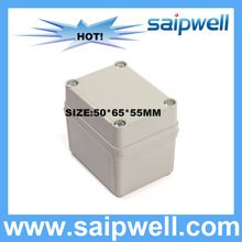 2015 HOT SALE IP67 plastic WATERPROOF JUNCTION BOX abs enclosure 50*65*55MM DS-AG-0506