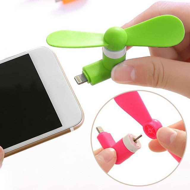 Cute Mini Fan for Smartphone