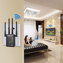 1000Mbps Wireless Wifi Router Dual Band AP Wireless wifi Repeater AC Extender Repeater Router WPS Button With 4 External Antenna
