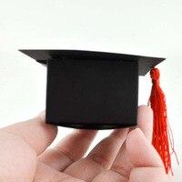 50pcs Lot Doctor Hat Cap Candy Box Graduation Celebration Party Decoration Candy Favor Boxes Graduation Gift