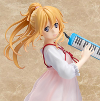 Japanese Anime Your Lie in April Kaori Miyazono melodica Pink dress ver PVC Action Figure Collectible Model Toy NO05