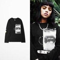 Originele Ontwerp Tij Dj T-shirts Merk Harajuku Hiphop T-shirt mannen Dont Trip Inc Print Grappige Virgin Mary Gemengde Pulp Fiction Tee