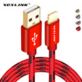 VOXLINK por Cable Relámpago Rápido Cargador Adaptador de Cable USB Original Para iphone 7 6 s plus iphone 5s ipad mini teléfono móvil cables