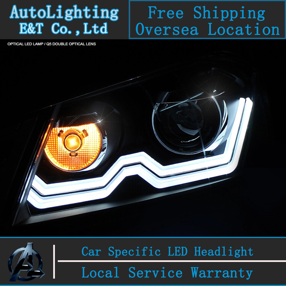Car Styling VW Passat B7 headlight assembly 2011-2014 Europe Version Volks Wagen Passat headlight drl H7 with hid kit 2pcs. набор автомобильных экранов trokot для vw passat b7 2010 2014 на передние двери tr0408 01