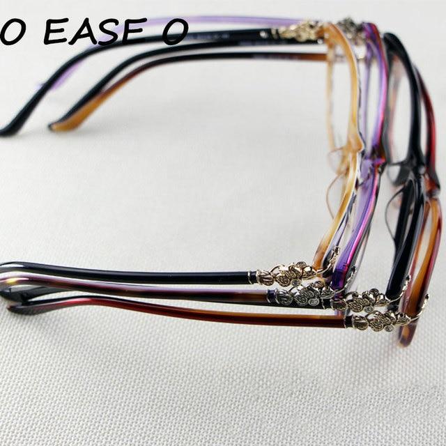 288ede1c29f Free Shipping Flower Decorated Full Rim Glasses Women Popular Eyeglasses  F8053