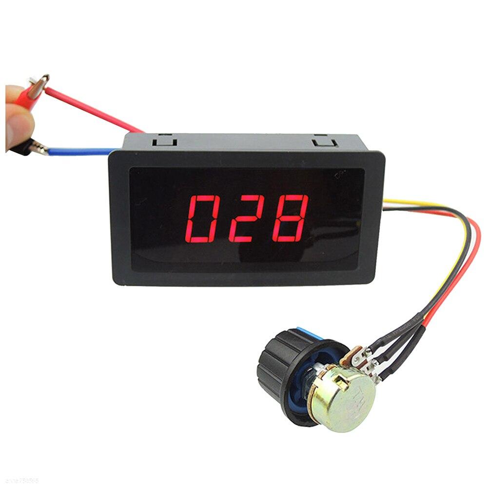 купить DC Motor Speed Control PWM Controller 6V-30V 5A 13KHz Digital Display по цене 281.51 рублей